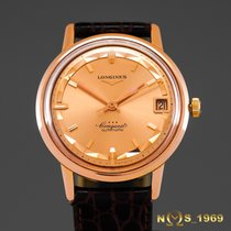 Longines Conquest 18K Rose Gold Automatic BOX
