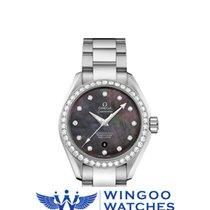 Omega - Seamaster Pearl Diamonds Ladies Watch Ref. 231.15.34.2...