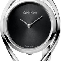 ck Calvin Klein LIGHT K6L2S111 Damenarmbanduhr Swiss Made