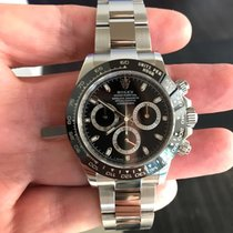 Rolex Daytona Cosmograph - Ceramic - Black - 2017 - FULL SET