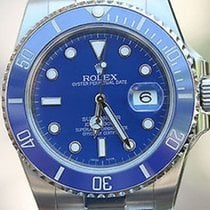 Rolex Submariner 116610 Stainless Blue Ceramic Bezel For 18k...