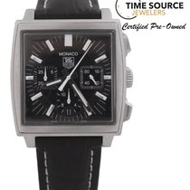 TAG Heuer Monaco Chrono Stainless Steel Automatic 38mm CW2111...