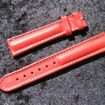 Breitling Tradema Kalb Armband 19/16 Mm Rot Red