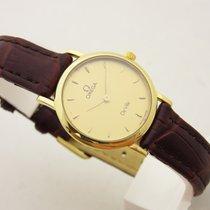 Omega de ville lady oro  18 kt 750 orologio donna