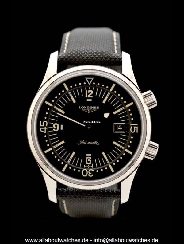 Longines Heritage Legend Diver - Ref. L3.674.4.50.0 - Box Papi... eladó 457  694 Ft Trusted Seller státuszú eladótól a Chrono24-en ddbd0ebd4f