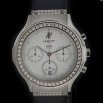 Hublot Steel Classic Chronograph Diamond Watch 1620.240.5.054