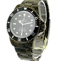 Rolex Used 16600_pvd Sea Dweller with Custom Black PVD 16600 -...