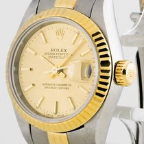 Rolex Oyster Perpetual Datejust Lady Stahl/Gold Ref. 69173