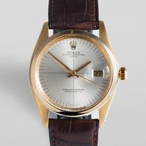 "Rolex Oyster Perpetual Date Yellow Gold - ""Crosshair..."