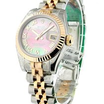 Rolex Unworn 179171 Ladys SS and RG 2-Tone Datejust 179171 -...