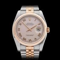 Rolex Datejust Stainless Steel & 18k Rose Gold Unisex 116231