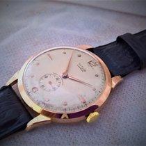 Titus Geneve, BIG size18ct solid  Golden vintage, serviced