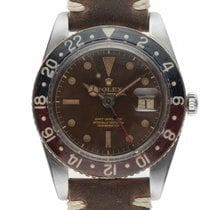 Ρολεξ (Rolex) GMT Master Bakelite Tropical Brown Roulette open...