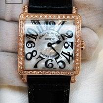 Franck Muller Master Square 33 Rose Gold Silver Dial 6002 M B...