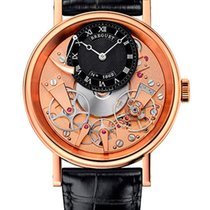 Breguet Brequet Tradition 7057 18K Rose Gold Men's Watch