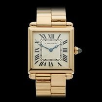 Cartier Tank Obus 18k Yellow Gold Ladies 1630 - W3962