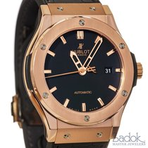 Hublot Classic Fusion 42mm Ceramic 18k Rose Gold Watch...