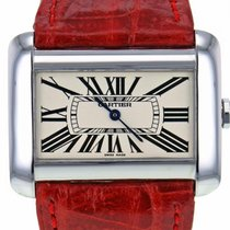 Cartier Tank DivanStainless Steel