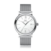IWC Schaffhausen Portofino Automatic Silver Steel Bracelet...