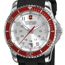 Victorinox Swiss Army Maverick GS Steel Womens Strap Watch...
