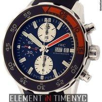 IWC Aquatimer Collection Aquatimer Chronograph Blue Dial