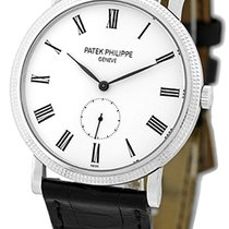 "Patek Philippe Gent's 18K White Gold  Ref # 5119 ""Cala..."