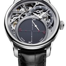 Maurice Lacroix Masterpiece Mysterious Seconds Black Crocodile...