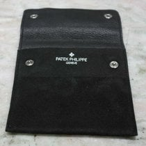 Patek Philippe VINTAGE 1970's black LEATHER SERVICE POUCH