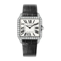 Cartier Santos Dumont Quartz Ladies Watch Ref WH100251