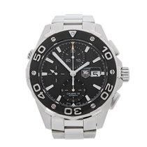 TAG Heuer Aquaracer Chronograph Stainless Steel Gents CAJ2110....
