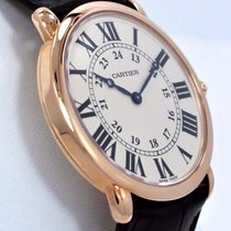 カルティエ (Cartier) Ronde Louis 2889 W6800251 Large 36mm 18k Rose...