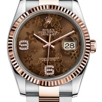 Rolex Datejust 36mm Flower Ladies