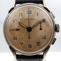Leonidas vintage chrono great patina big size