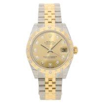 Rolex Datejust 178343 - Midsize - Diamond Dial & Bezel -...