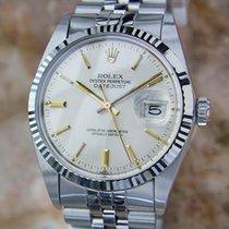 Rolex 16014 Quickset Datejust Swiss Made 18k Gold Stainless...