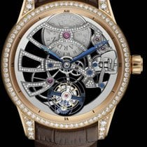 Ulysse Nardin CLASSIC SKELETON TOURBILLON Gold Brown Strap...