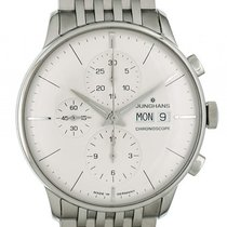 Junghans Meister Chronoscope Chronograph Day Date Automatik 40mm
