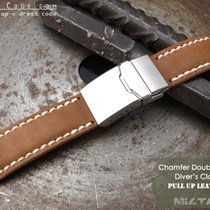 IWC 21mm Pull Up Leather Replacement Band #C1D01