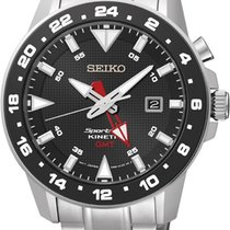 Seiko Sportura Kinetic GMT Herrenuhr SUN015P1