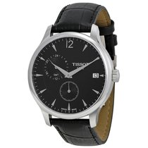 Tissot Men's T0636391605700 T-Classic Tradition GMT Watch