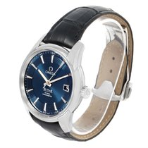 Omega Deville Hour Vision Blue Dial Watch 431.33.41.21.03.001...
