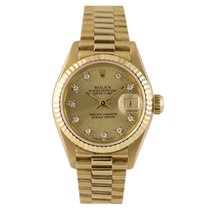 Rolex Datejust President Ladies 18k Diamond Dial, Ref: 69178