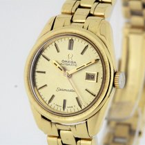 Omega Seamaster Vintage solid 18K Gold Watch Cal. 681 Papers...