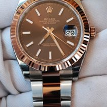 Rolex DateJust II 41 Chocolate Steel & Rose Gold 126331