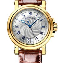 Breguet Brequet Marine 5817 18K Yellow Gold Men's Watch