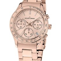 Jacques Lemans 1-1587ZK Rome Chronograph Damen 37mm 10ATM