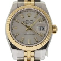 Rolex Datejust 179173 26mm Steel Gold Silver Automatic...