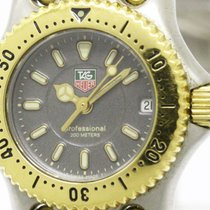 TAG Heuer Polished Tag Heuer Sel Professional Gold Plated...