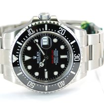 Rolex NEW w/Stickers Sea-Dweller RED Stainless Steel - 126600