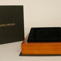 Baume & Mercier Schachtel schwarzes Kissen
